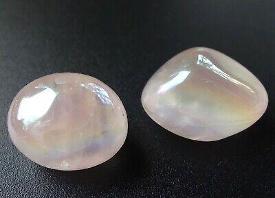 Pink Morganite Tumbled Stone Reiki Chakra Meditation Crystal Healing Heart Angel