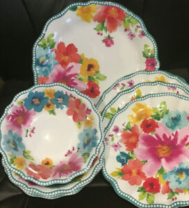The-Pioneer-Woman-100-Melamine-Indoor-Outdoor-Dinnerware-See-Variances
