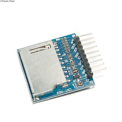 SD Card Module for Arduino, Raspberry Pi, PIC, SPI Micro - 3.3V or 5V - Robotics