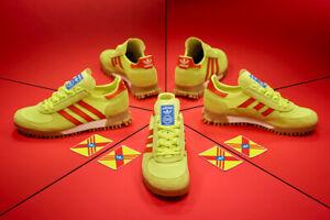 Details about Adidas Originals Marathon TR Archive Yellow & Red 6 12 OG Exclusive
