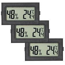 5 stk Thermometer digital LCD 50+110°C Temperatur Anzeige Messer Aquarium