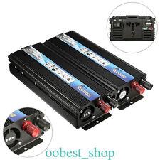 12V DC to 110V AC 50HZ 2000W Pure Sine Wave Car Power Inverter Adapter Converter
