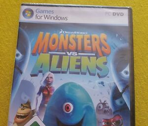 PC-Spiel / Monsters vs. Aliens /PC/ PC DVD / for Windows/ NEU - Hemer, Deutschland - PC-Spiel / Monsters vs. Aliens /PC/ PC DVD / for Windows/ NEU - Hemer, Deutschland