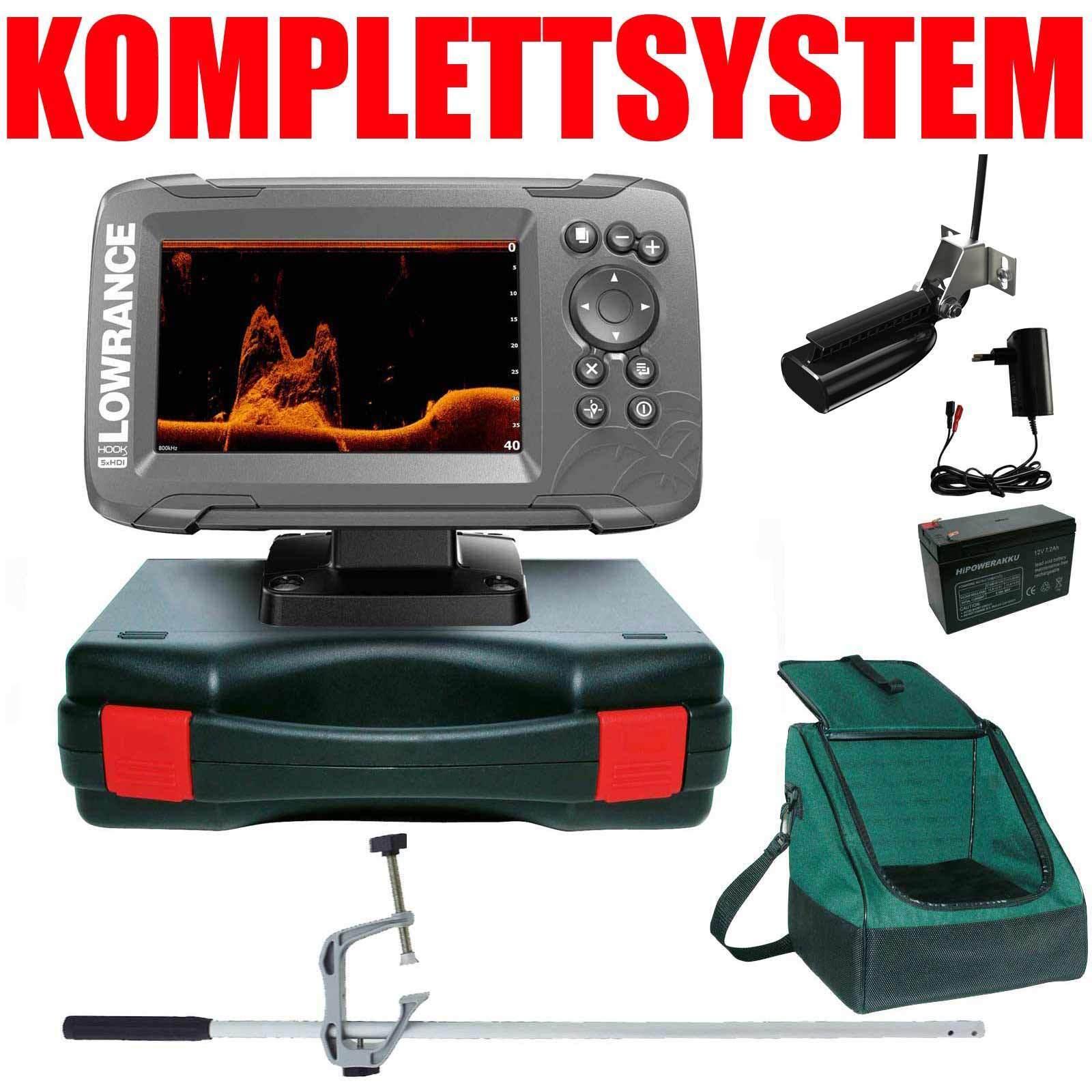 Niedrigrance Echolot GPS Portabel Master Edition Plus - - - Hook2 5x SplitShot HDI GPS 73db1e