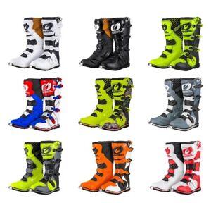 Oneal Rider EU BOOTS WHITE MOTOCROSS ENDURO MX Quad Boots Cross Enduro