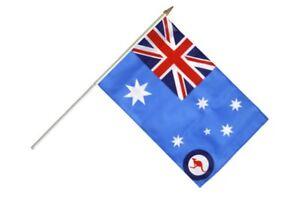Australien Royal Australian Air Force Stockflagge Flaggen Fahnen Stockfahne 30x4 wAWCX1sv-07183910-104608785