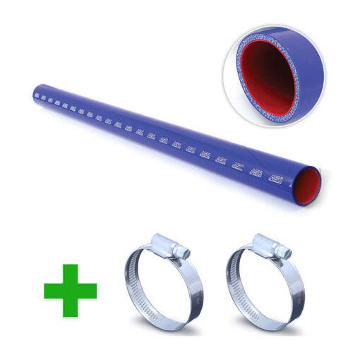 1 Metre Silicone Fuel /& Oil Hose Pipe Tube Petrol Flouro Straight 2 Clips hos