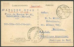 La-France-au-Maroc-a-l-039-Argentine-carte-postale-1938