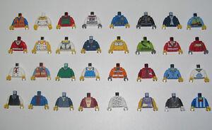 Lego-Nouvelle-Serie-Minifig-Torse-Bras-Main-Torso-Choose-Model-NEW
