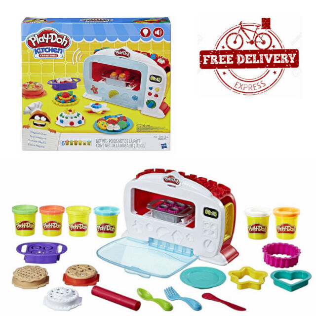 Play Doh Kitchen Creations Magical Oven Set Delivery Ebay