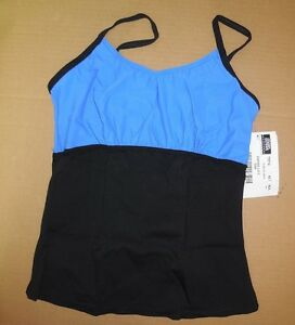NWT-CAMISOLE-empire-line-yoga-camisole-top-75574-Tactel-Spandex-Dance-workout