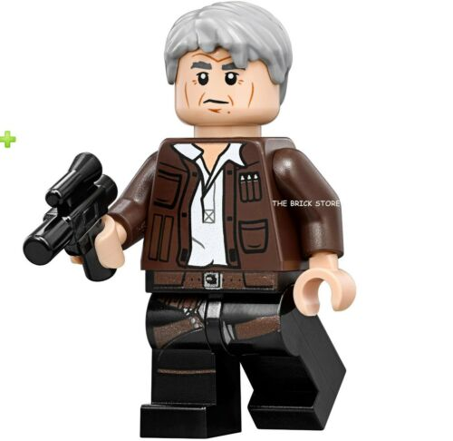 75192-2017 LEGO STAR WARS MILLENNIUM FALCON OLD HAN SOLO FIGURE NEW GIFT