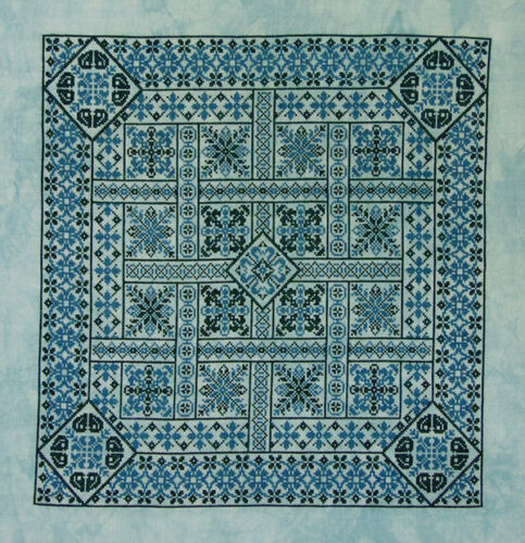 Shades of Turquoise embroidery pamphlet by Northern Expressions Needlework