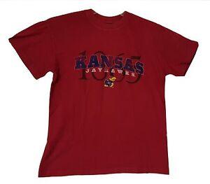 KU Kansas Jayhawks T-Shirt Adult Sizes NCAA Graphic Logo Tee