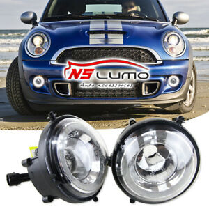 Details About Mini Cooper Led Drl R56 Halo Ring Daytime Running Lights Fog Driving Lamps