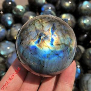 1pc-Arco-Iris-Labradorita-esfera-De-Cuarzo-Natural-45mm-Bola-de-Cristal-Curacion-Reiki