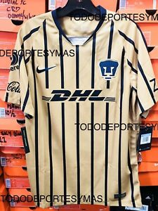 timeless design b8eaa 59a50 Details about Nike Pumas UNAM New Stadium Soccer Jersey 2018/2019 Size Small
