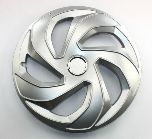Radkappen Radzierblenden universal 4er PACK 15 Zoll REX RING silver
