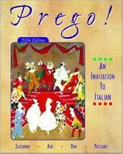 Prego! An Invitation to Italian (Student Edition + Listening Comprehension Audio