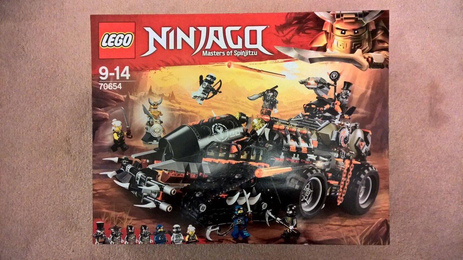 LEGO 70654 - DIESELNAUT - NINJAGO - BRAND NEW   SEALED - -