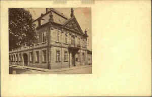 BLIESKASTEL-Rathaus-ehem-Polizei-Gebaeude-Heimatbeleg-im-Postkarten-Format-1940