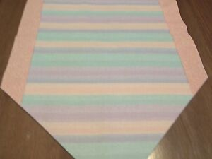 Rainbow Pastel Table Runner New Springsummer With Color Choice