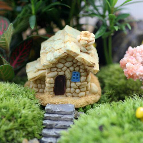 UK/_Stone House Fairy Garden Miniature Craft Micro Landscape Decoration Ran HDUK