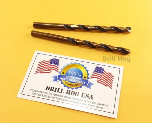 "Drill Hog 9//64 Drill Bit 9//64/"" Molybdenum M7 HSS Twist Lifetime Warranty"