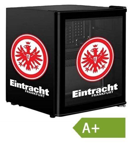 ECG ERM 10510 EFR Kühlschrank Eintracht Frankfurt 48L Pulverbeschichtung EEK:A+