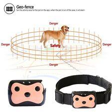 Intelligent Waterproof Pet Dog Cat Collar Safety Locator GPS Tracker GSM Finder