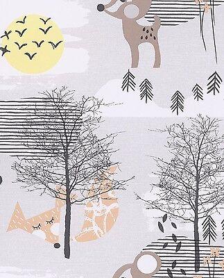Reh & Fuchs Vliestapete by Eijffinger Tout Petite Kinderzimmer 4 tolle Farben