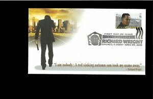 2002-First-day-Cover-Richard-Wright-Chicago-IL
