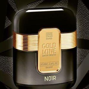 Gold Mine Noir By Emper Edt Eau De Toilette For Menherren Parfum