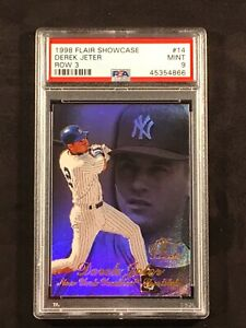 1998-Flair-Showcase-Row-3-Derek-Jeter-14-PSA-9