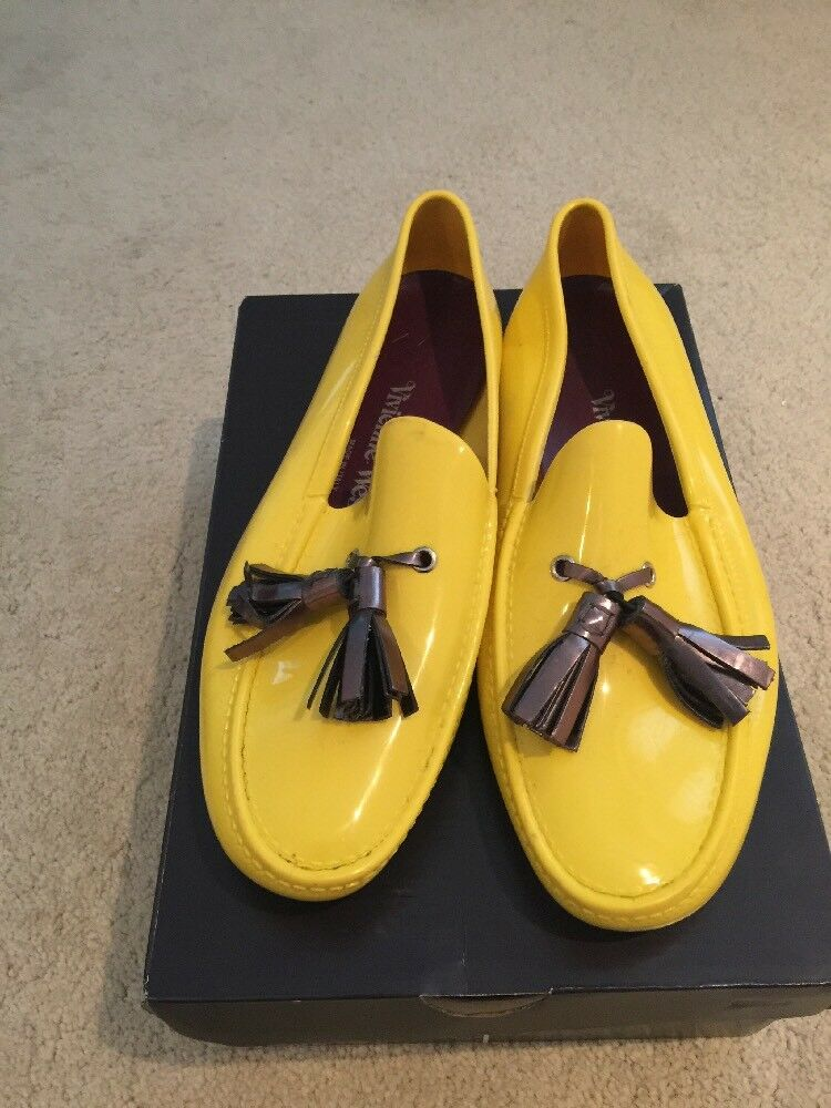 Vivienne Westwood Men's Yellow Loafer Size 43