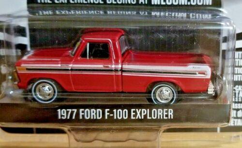 Greenlight 1977 Ford F-100 Explorer 1:64 Diecast Truck Mecum Auctions 37170-F