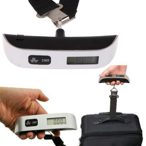 Portable Digital Luggage Scale Suitcase Travel Bag Balance Weight Hanging Scales