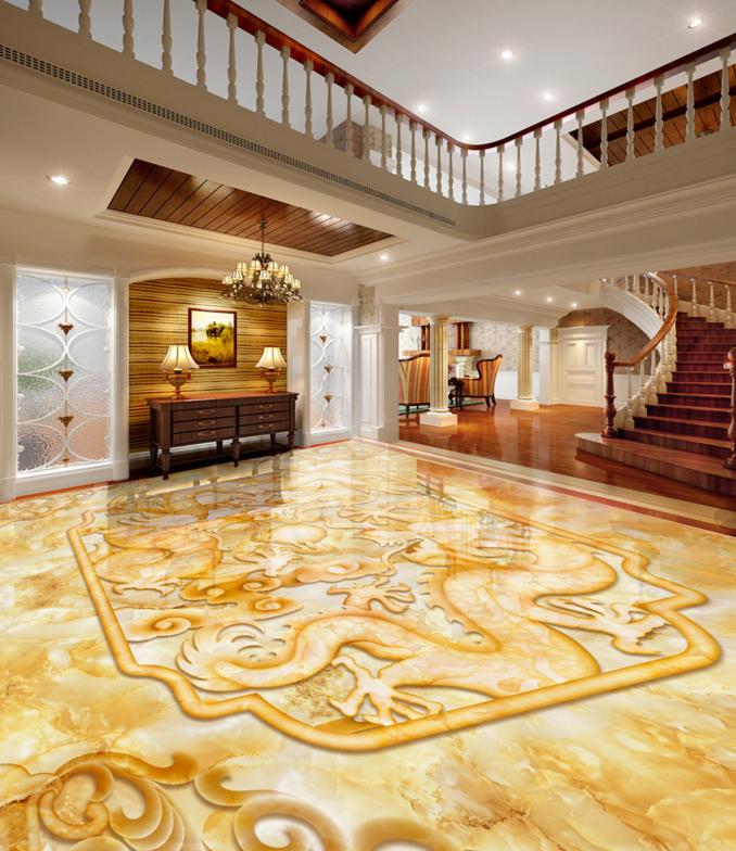 3D Gold Muster 51 Fototapeten Wandbild Fototapete Tapete Familie DE Lemon