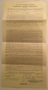1959-Montreal-Alouettes-CFL-Canadian-Football-Signed-Contract-By-M-E-Workman