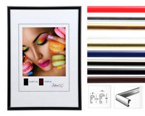 Ideal Life Kunststoff Bilderrahmen 10x15 cm bis 50x70 cm Bilder Foto Rahmen