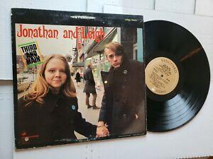 Jonathan Et Leigh - Troisième Et Main 1967 Folk Rock (LP) Vanguard