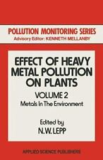 Pollution Monitoring: Effect of Heavy Metal Pollution on Plants : Metals in...