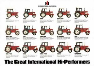 THE-INTERNATIONAL-CASE-COLLECTION-TRACTOR-SALES-BROCHURE-POSTER-80-039-s-ADVERT-A3