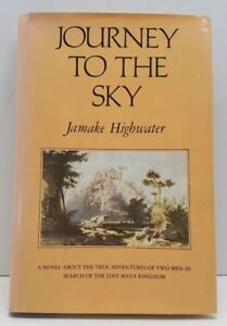 Journey-to-the-Sky-Jamake-Highwater-HCDJ-Book-1978-1st-Edition-Signed-Inscribed