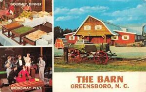GREENSBORO, NC North Carolina THE BARN~Dinner Theatre ...