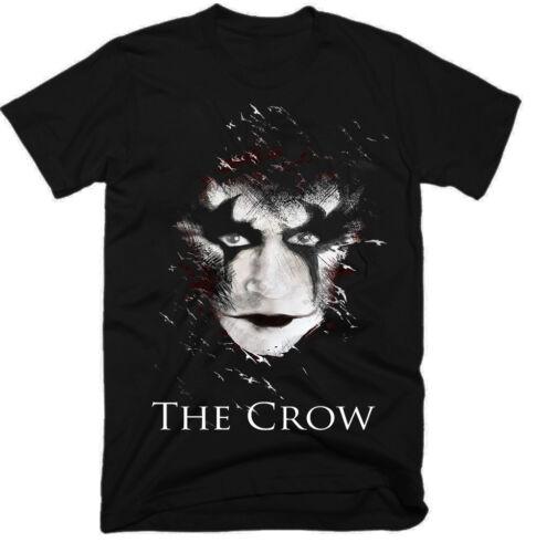 E0542 homme T-shirt. The Crow Film 100/% coton