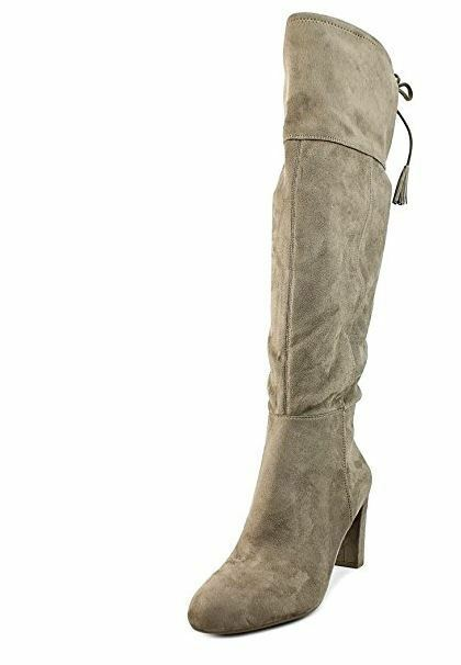 INC International Concepts Hadli damen US 9.5 Tan Over the Knee Stiefel