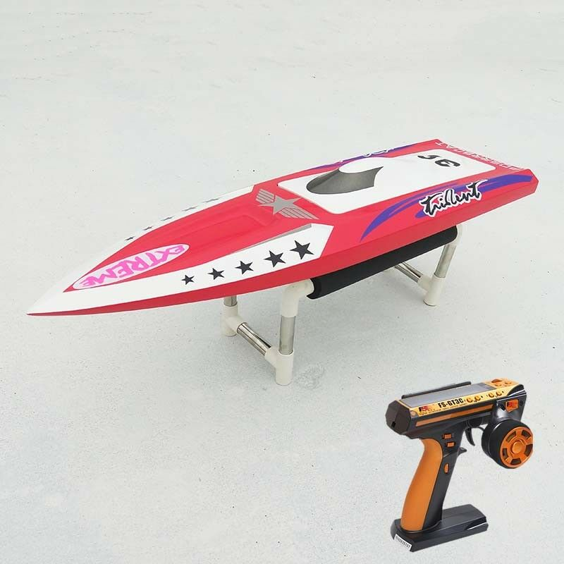 DT RC Electric Boat H640 25  RTR W/ Fiber Glass Motor Rudder Servo ESC Battery