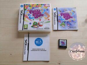 Jeu rare Nintendo DS Puzzle Bobble Galaxy (Square Enix) avec Boite et Notice FR