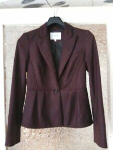 K Jacket Us 8 Blazer Eggplant Bennett Bryna Uk Color 10 L Size 1wd7qp7